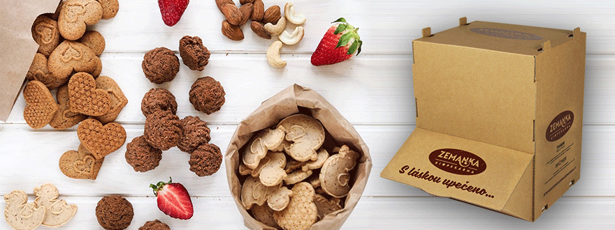 Practical, eco-friendly storage for organic biscuits