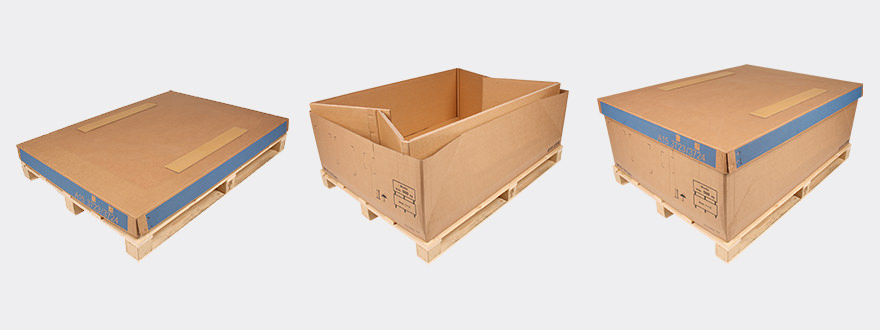 Large load carriers. Packaging for Furniture   Wood   Sectors   THIMM