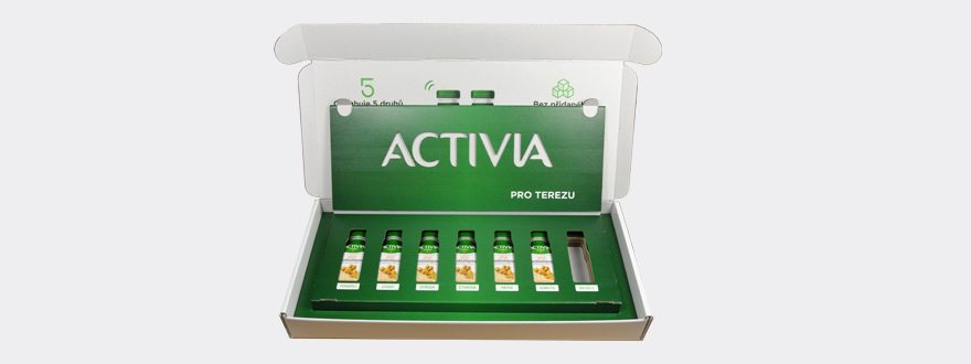 Activia shot product communication support